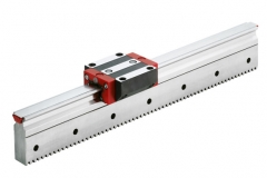 Linear Guideway with Integrated Racks